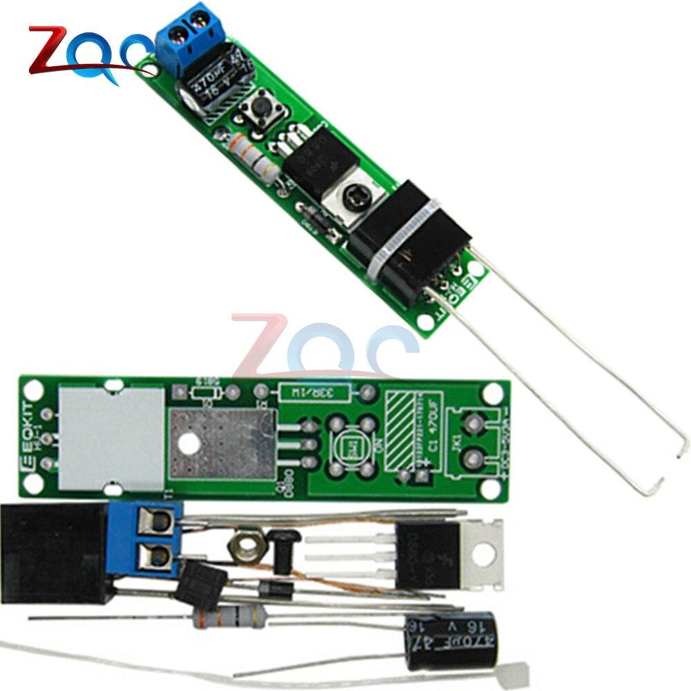 HV-1 High Voltage Igniter Kit Arc Ignition Parts DIY Kit Arc Generator Arc Cigarette Igniter Module PCB Board DC 3-5V 3A 3