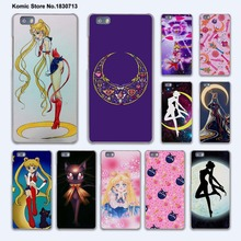 Japanese Comic Sailor Moon Lovely Girl design hard transparent Cover Case for huawei P10 Plus P8 P9 Lite Mate 9 S 8 7 phone case