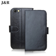 Luxury Leather Case For Prestigio Grace Q5 Flip Wallet Cover For Prestigio Grace Q5 5506 PSP5506 DUO 5.0 Inch Phone Bags Cases(China)