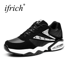 2017 Big Size Sport Shoes Sport Men Women Athletic Shoes Black Red Mens Walking Jogging Sneakers Couples Gym Trainers Brand(China)