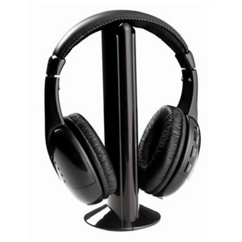 FineFun New High Quality 5 in1 Wireless Hi-Fi Headphone FM Radio Chatting Monitor Wired Noise Cancelling Headset for TV PC Mp3<br><br>Aliexpress