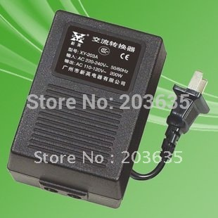 New XY-203A, 200W 220V TO 110V Power Converter Adapter Voltage Transformer ,POWER INVERTER<br>