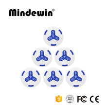 Mindewin 433MHz Wireless Service Button Call Bell System for Reataurants and Hospitals Table Bells Waiter Calling System Botones