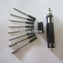 Rc tool 8 in 1 Hex Hexagon Screw Driver Set Kit 1.5/ 2/ 2.5/ 3mm  Socket wrench 4.0 5.5MM screwdriver Slotted
