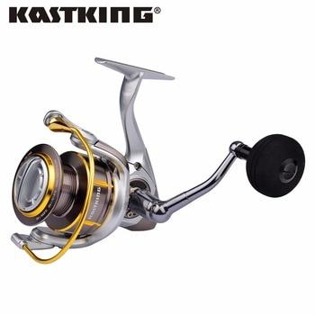 Kastking kodiak agua salada hilado full metal body 18 kg drag carrete de pesca en barco con 11 bbs 5.2: 1 relación de engranajes