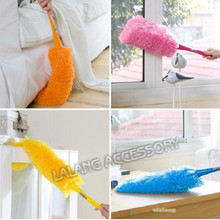 Long design ultrafine fiber household cleaning car Dust duster feather brush cleaning dust Tool EJ671816(China)