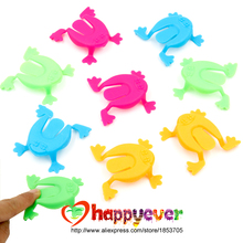 36PCS 2 Inch Jumping Frog Hoppers Game Kids Party Favor Birthday Party Toys for Girl Boy Goody Bag Pinata Fillers(China)