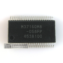 M37160m8-058fp kludge chip colortelevision tv machine ic chip(China)