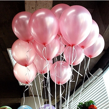 cheap 100pcs 10'' 1.2g Round Shape Latex Pearl Balloons Party Decorate Valentine's Day Happy Birthday Wedding Decoration Balloon 5