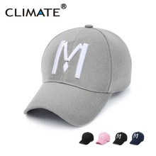 Climate Unique Striking 3D M Logo Baseball Sport Cap Amazing Nice Pink Navy Black Color Hats For Men Women Unisex Adjustable