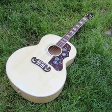 acoustic guitar, Custom electric acoustic guitar 43 inch jumbo guitar