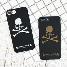 Buy Funny Hard PC Phone Cases iphone 7 7Plus Fashion Letter Skull Coque iphone 8 6 6s Plus Cover Fundas Mastermind letter for $2.65 in AliExpress store