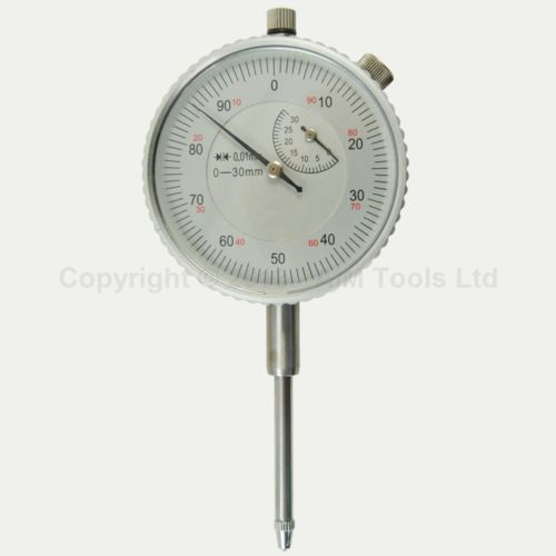 Metal Milling Outer Measuring Dial Indicator Gauge 0-30MM 0.01MM<br>