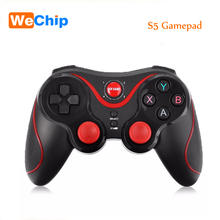 Gen Game S5 Wireless Bluetooth Gamepad Game Controller Handle Remote Joystick For Android Tablet Came Console For iPhone tv box(China)