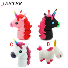 JASTER New Unicorn Despicable Me 2 USB Flash Drive 100% Genuine cartoon Memory Stick Pendrive 4GB 8GB 16GB 32GB Pen Drive toy