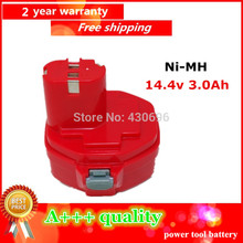 Ni-MH 14.4v 3.0Ah Replacement  for MAKITA  power tool battery 1433 1434 1435 1435F 192699-A 193158-3 ,for 1051D 1051DWD 1051DWD