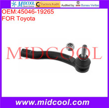 High Quality Auto Parts Front Axle Right Steering Tie Rod End OEM:45046-19265
