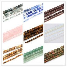 4/6/8/10mm 39-98pcs/lot Tiger Eye Beads Nature Stone Beads For Jewelry Making Bracelet Necklace DIY Jewelry Accessories