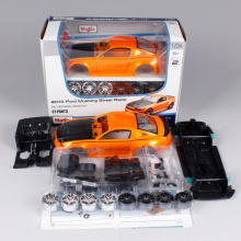 Maisto 1:24 2014 Ford Mustang Street Racer Assembly DIY Diecast Model Car Toy New In Box Free Shipping 39127(China)