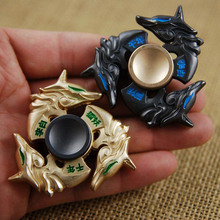 Buy New golden dragon Fidget spinner Zinc alloy Metal rotary EDC hand spinner autism ADHD Focus Stress Fingertip gyro for $4.96 in AliExpress store
