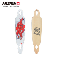 KOSTON Professional Drop Through Longboard Deck 42 Inch 8ply Canada Maple Pressed Carving Board Long Cruising Skateboard LD020(China)