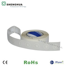 10pcs/pack Promotion Cheap 13.56MHz NFC Tag ISO Standard Ntag 213 Passive NFC Sticker Paper Roll Tag for Epayment
