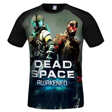 New Fashion Men funny t shirts Despicable Me/Dead Space 3d Printed High Quality men brand clothing O Neck Short Sleeve t shirt
