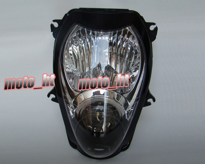 Black Headlight For Suzuki Hayabusa 1300 GSX1300R 1999-2007, Front Brand New Motorcycle Clear light Lamp from China<br><br>Aliexpress