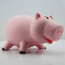 "8"" 20cm Toy Story Hamm Piggy Bank Pink Pig Coin Box PVC Model Toys For Children With Box(China)"