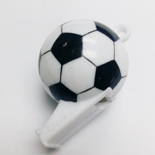40X DIY Football Whistle Sport match Game E780 Hiking Charm Favour Pinata Necklace SchoolBag keychain Party Favors Gift Birthday