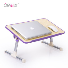 Adjustable Height Computer Desk Can Llift Computer Table Study Notebook Bed Desk Portable Laptop Desk With Cooling Fan
