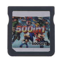Free Shipping 500 In 1 Game Card Cartridge for Nintendo DS Video Game(China)