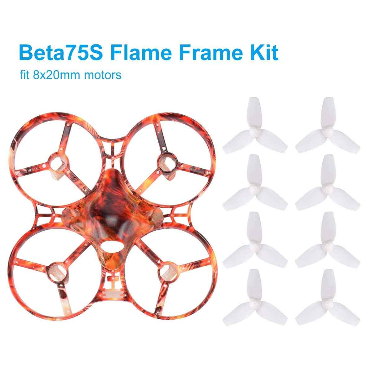 cec39889ec5 Detail Feedback Questions about BETAFPV Beta75S 75mm Whoop Frame Kit Flame  Freestyle Frame with Canopy 40mm 3 blade Props for Inductrix FPV Tiny Whoop  ...
