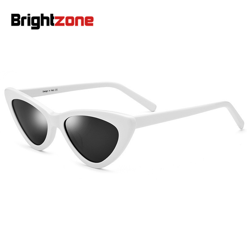 Brightzone 2018 European New Small Frame Polarized Retro Sunglasses Fashion Triangle Glasses Women Tmall Lentes De Sol Mujer