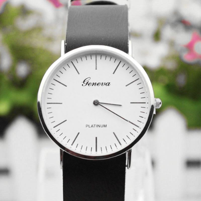 Geneva Watches Mens Luxury Brand Military Sports Watch Men Faux Leather Quartz Wrist Watch Male Business Hours Reloj Masculino<br><br>Aliexpress