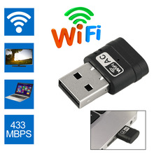 600M Portable Wireless USB WiFi Adapter 5Ghz 2.4Ghz 802.11 B G N Network Dongle For Desktop Notebook Computer