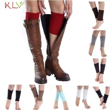 New Fashion  KLV Cool beener Short  Knitting Socks Leg Warmers Boot Cover nov21 Drop Shipping