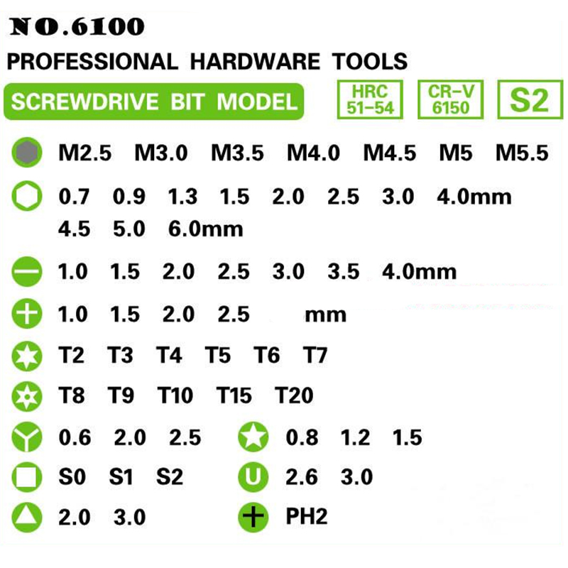Screwdriver set 60 in 1 Screwdriver Repair Tool Set Precise Manual Tool Set Multifunction For iPhone Cellphone Tablet (3)
