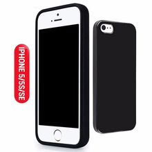 Luxury Cool Ultra Slim Cover for Apple iphone 5 Case Silicone Back Matte TPU Soft for iPhone 5 5S Cover SE Case Black Boys Man