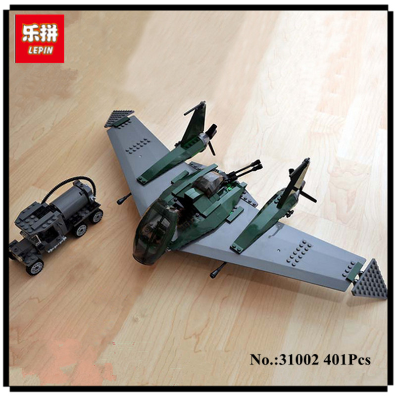 IN STOCK LEPIN 31002 401pcs fight on the flying wing Educational Building Blocks Bricks Model Toys 7683 to children toys<br>