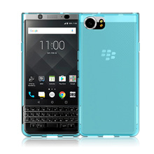 Skid-proof Soft TPU Transparent Silicone Clear Case Cover for BlackBerry KEYone Mercury DTEK70(China)