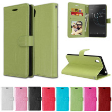 Buy Sony Xperia L1 l 1 case LTE G3311 G3312 G3313 Flip Phone Sony lte-g3321 g3312 g3313 Bumper Cover Solid color Leather 5.5 for $4.27 in AliExpress store
