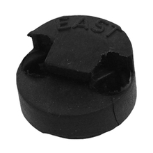 Wholesale 5X Violin Mute Replacement Double Hole Tourte Black Rubber Sordine