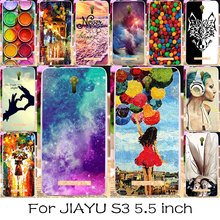 TAOYUNXI DIY Painted Silicone Phone Case For JIAYU S3 5.5 inch Mobile Phone Bag Cover For JIAYU S3 Skin Flexible Cover Case(China)