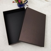 paper box of high quality for gifts packing, 33*23*11cm, logo printing is available