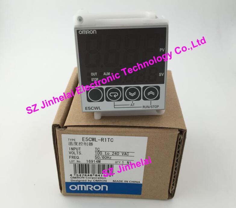 New and original  E5CWL-R1TC  OMRON   Intelligent temperature controllers  100-240VAC<br>