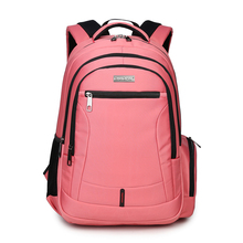 girls school backpack women travel bags bookbag kids back pack mochila children school bags for teenagers pink laptop bag 15.6(China)