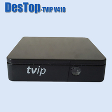 Set Top Box of TVIP V410 Box Double System Linux &Android 4.4 Amlogic S805 quad core support H.265 1920x1080 IPTV 1pc/lot