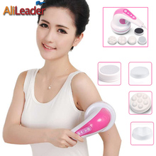 Safe Fat Burning Equipment Reducing Cellulite Massager Vibrating Electric Body Massager Neck Let Foot Arm Full Body Massager(China)
