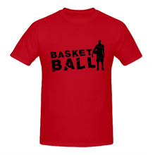 RTTMALL Leisure Cotton Short Sleeve basket ball player Retro Men's Tee shirts Cheap O Neck Latest Sport Group t shirts for Mens(China)